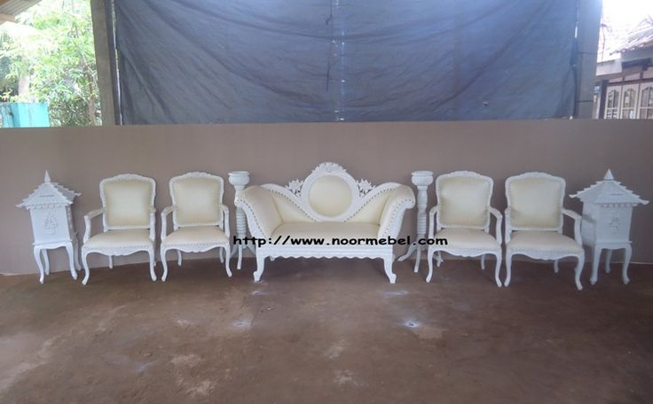 Set Kursi Pengantin Duco | Noor Mebel Jepara | Jepara Furniture Minimalis, Antik and Classic