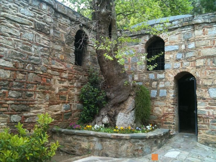 Mary's house in Ephesus, where she spent her last days on earth