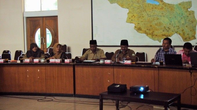Kick Off Meeting MPS PPSP Kab. Aceh Tengah