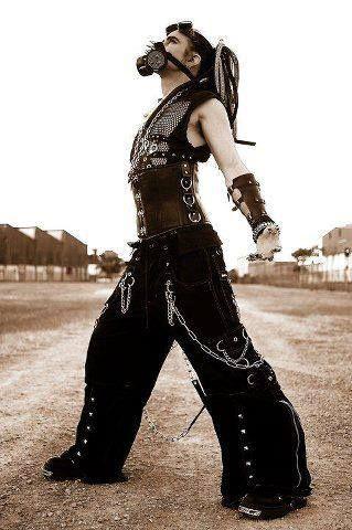 Cybergoth Wasteland Pirates Gothik Und Kleidung