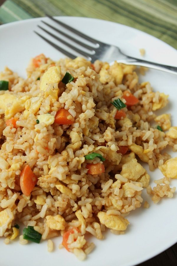 Chinese Fried Rice (Low-Fructose Gluten-Free)