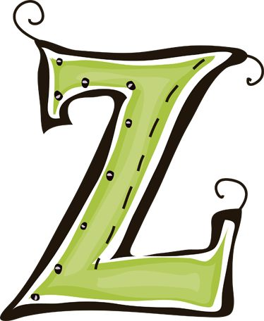 Best The Letter Z Images On   Letter Letters And A