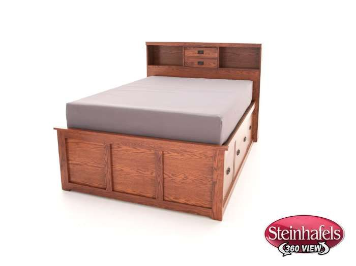 Steinhafels - American Mission Queen Bookcase Storage Bed