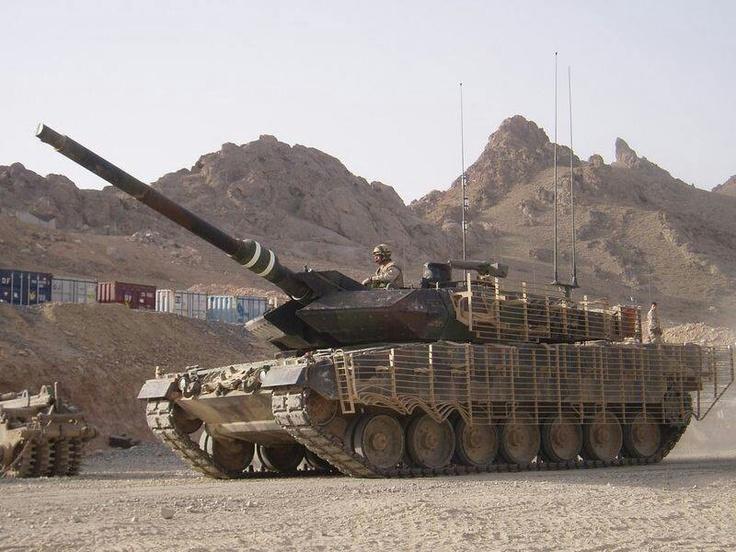 Canadian Leopard, Afghanistan.