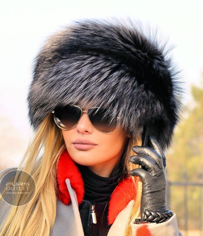 NEW LaFuria 2017 SILVER FOX FUR HAT CLASS SABLE MINK CHINCHILLA COAT JACKET VEST