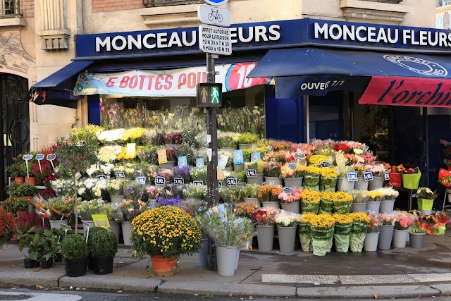Una floristería de París