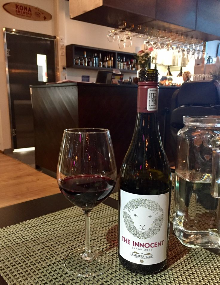 The Innocent red wine from South Africa