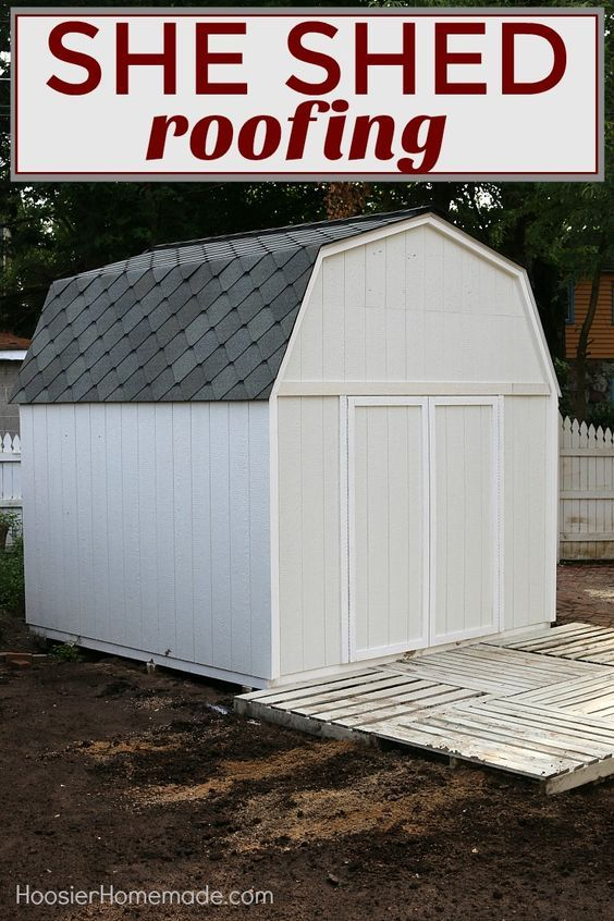 17 best images about she shed on pinterest cast your for How to shingle a shed