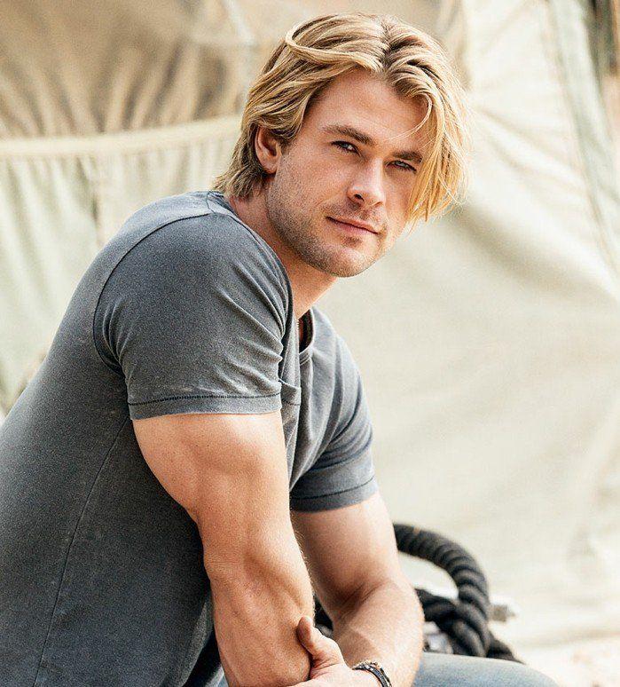 meche blonde homme - coiffure dégradé homme