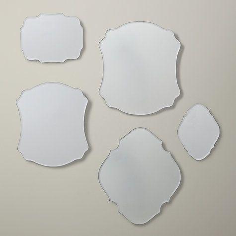 Buy Santiago Scatter Mirrors, Set Of 5 Online at johnlewis.com
