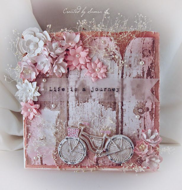 Paper Talk With Samra: Life is a Journey Card