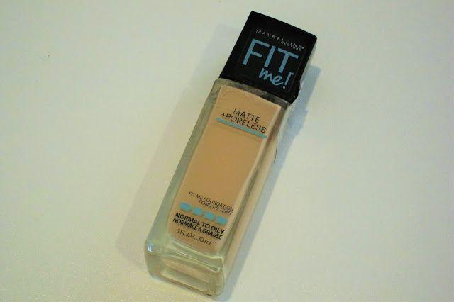 Australian Makeup and Skin care: Maybelline Fit me Matte+Poreless Foundation