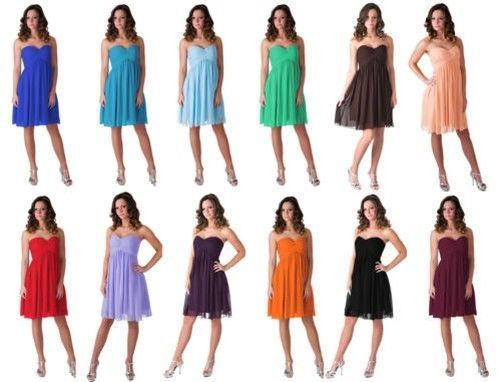 57.20$  Buy here - http://vipkh.justgood.pw/vig/item.php?t=wpj5fu16254 - Abiti Da Cerimonia Damigella D'onore Festa Nuziale Elegante Sera Palla 0 - 18