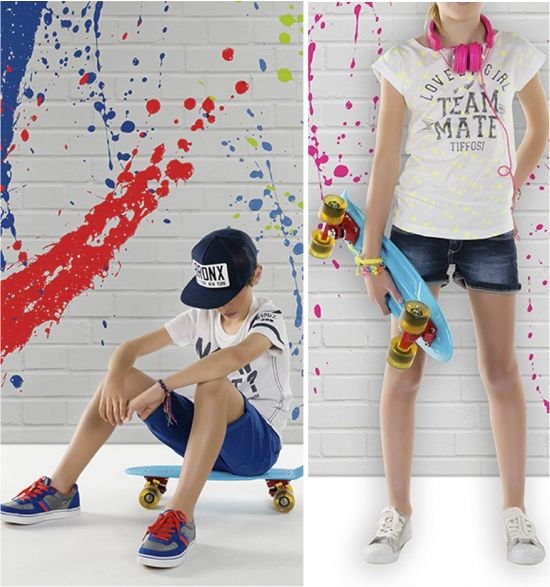 LOOKBOOK TIFFOSI KIDS: POP COLOR!