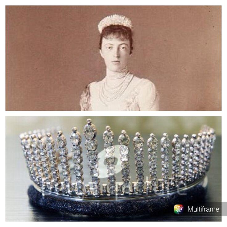 THE ROMANOVS JEWELRY ~ this 'Russian Kokoshnik' tiara ...
