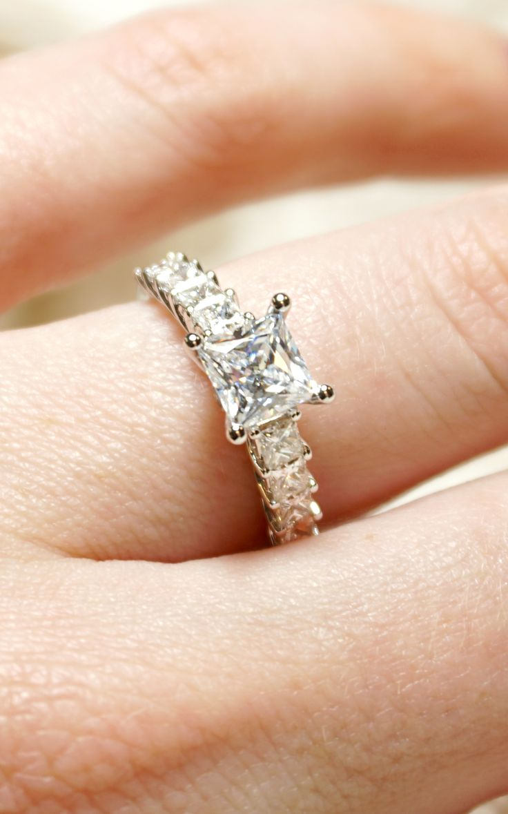Princess Cut Diamond Engagement Ring  Joseph Jewelry  Bellevue  Seattle   Online  Design