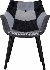 Zuiver stoel patchwork