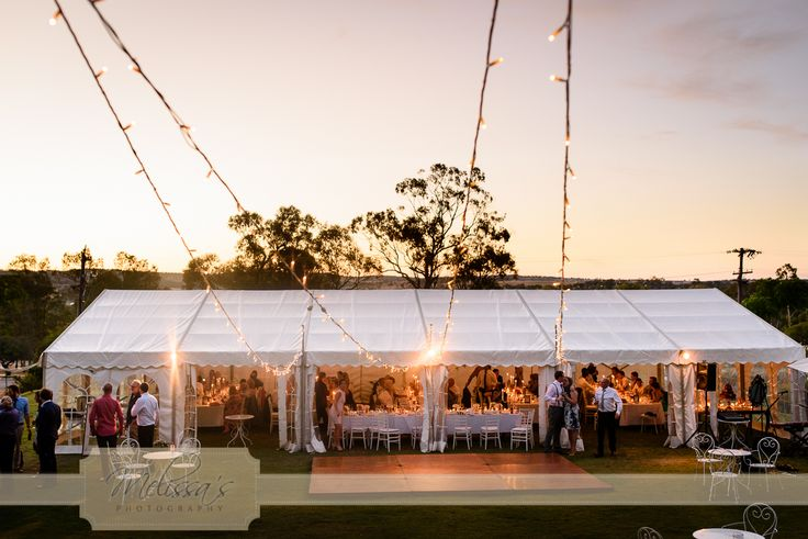 Sunset marquee at Laurelville Manor was so pretty for Bec & Brendan's wedding