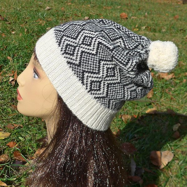 This alpaca hat from Bolivia will keep your head warm all winter!