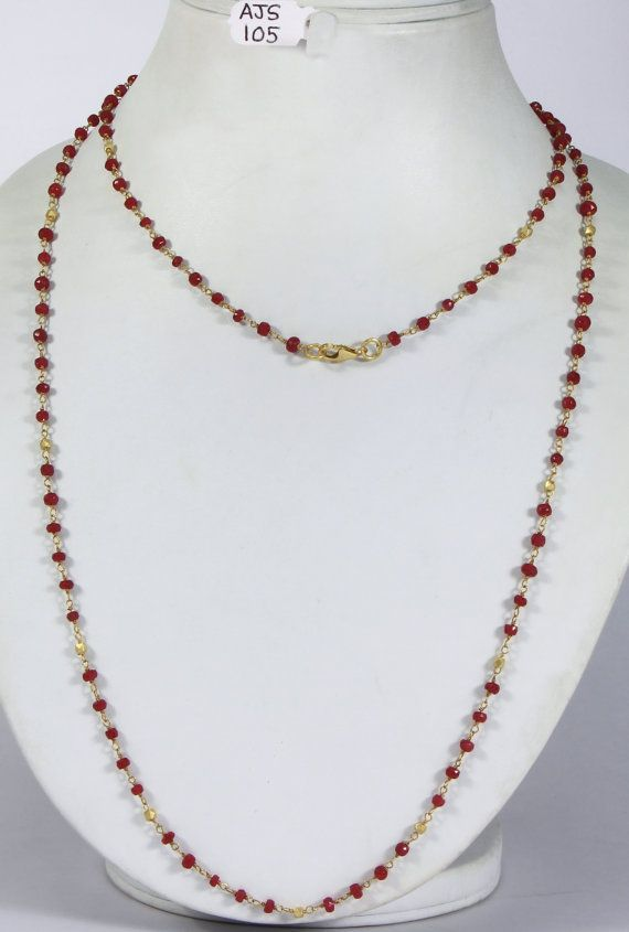 Antique Style 20 inch Long Chain Necklace .925Sterling Silver