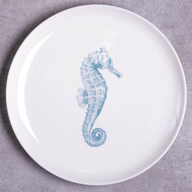 Seahorse Dinner Plate & 10 best Artistic dinner plates images on Pinterest