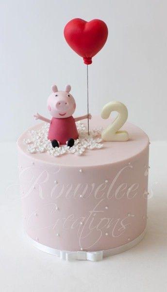 Peppa Pig Birthday Cake idea