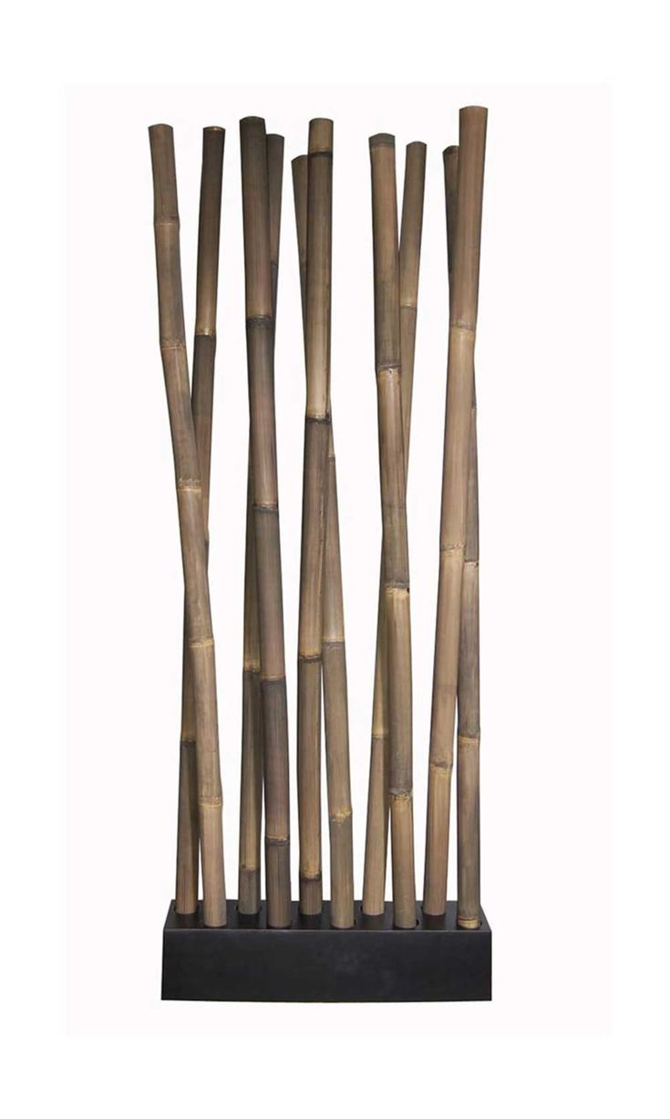 furniture divider design. awie room divider bring nature inside with the exotic natural bamboo construction of stained a patina finish furniture design