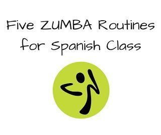 Five Zumba Routines for Spanish Class