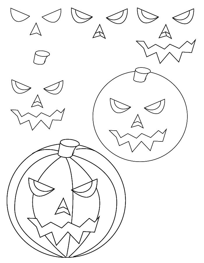 How to draw a pumpkin - simple
