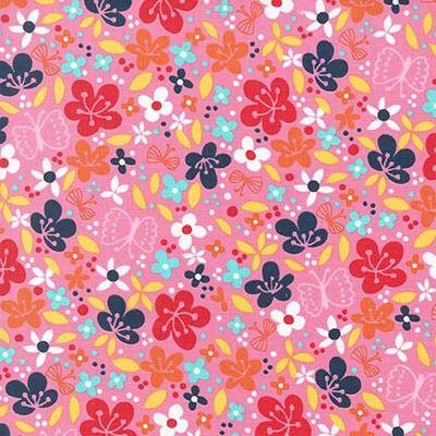 Cherry Blossom Garden Flowers Pink