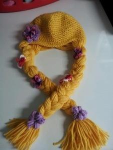 tangled- crochet hair