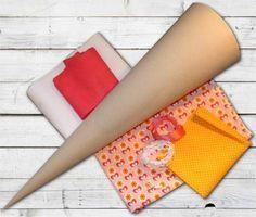Stoffe und Materialien für Schultüte