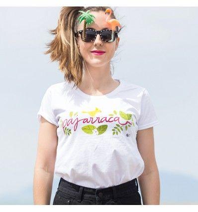Camiseta de edición limitada 100% algodón para chicas a las que nadie puede enjaular tus ganas de vivir y tus ganas de volar muy, pero que muy alto.