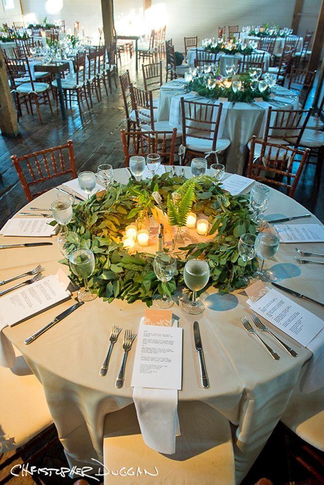 Budget Friendly Wedding Trend Greenery Decor See More Http Www Weddingforward Weddings