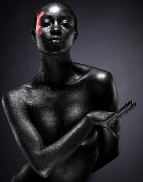 Dark Skinned Nude 18