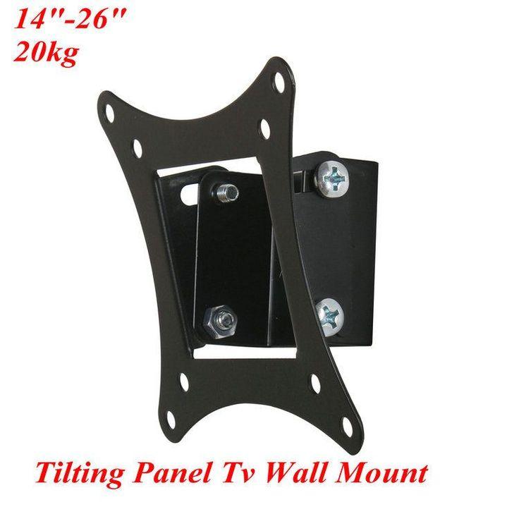 Tilting Flat Panel TV Monitor Wall Mount,LCD TV Mount ,LCD Mount Bracket-in TV Mount from Consumer Electronics on Aliexpress.com   Alibaba Group
