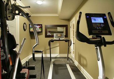 Basement Gym - eclectic - home gym - new york - Craig Custom Builders