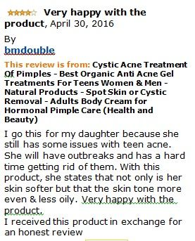 RAPID ACNE RELIEF - Notice the difference after one or two days, Fights Acne-Causing Bacteria