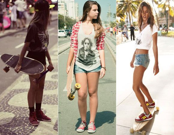 Alerta de tendência: moda skate! -