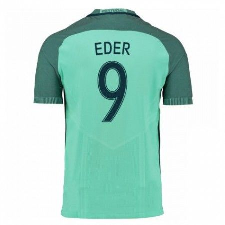 Portugal 2016 Eder 9 Bortedraktsett Kortermet.  http://www.fotballteam.com/portugal-2016-eder-9-bortedraktsett-kortermet.  #fotballdrakter