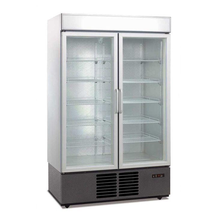 1000l Double Glass Door Drink Display Fridge Want