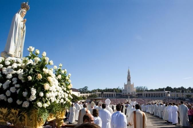 Fatima Private Full-Day Tour Light a candle in Fatima, a pilgrimage site where it is said thatthree shepherd children beheld the virgin, known here asOur Lady of Fatima. This private day trip from Lisbon lets you into the chapel sanctuary and basilica before you visit the homes of the three shepherd children in Valinhos.Start your personalized tour of Fatima with pickup at your hotel in Lisbon by private Mercedes minivan. Your first stop is theChapel of Apparitions, located...