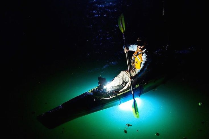 nocqua sport edition – underwater light systems for paddlers, Reel Combo
