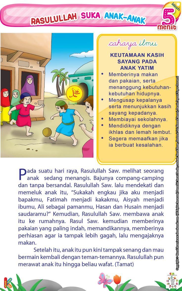 Rasulullah Suka Anak-anak