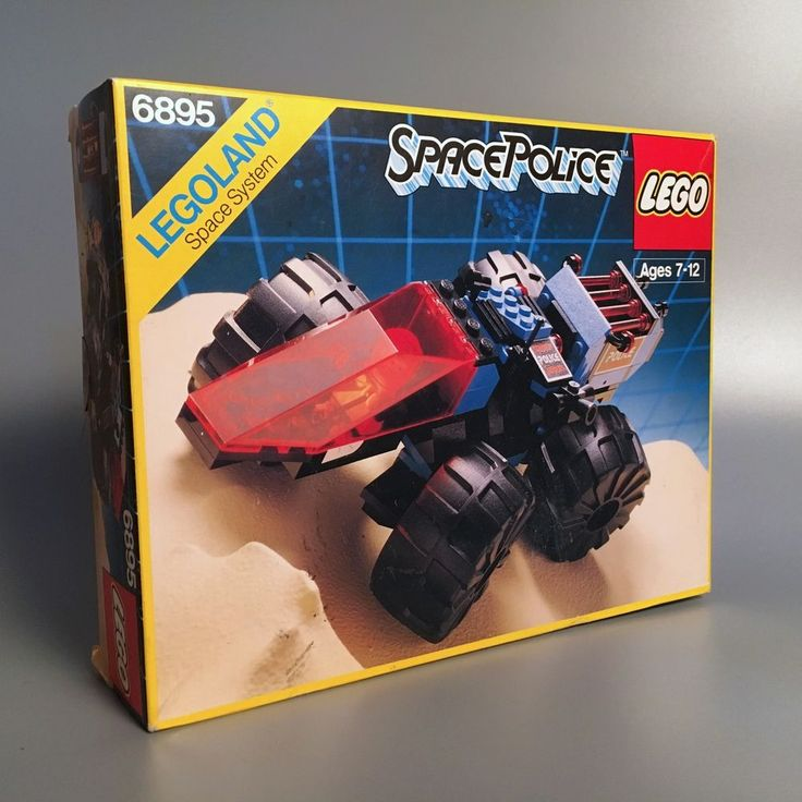 1989 Vintage LEGO SPACE POLICE Spy-Trak I Vehicle Set 6895 in Original Box  | eBay