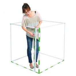 Cubic Metre Cubic Metre Kit, easily assembled and stored. Will give valuable insight into the physical dimensions of a cubed metre. Metre sticks can be used individually.