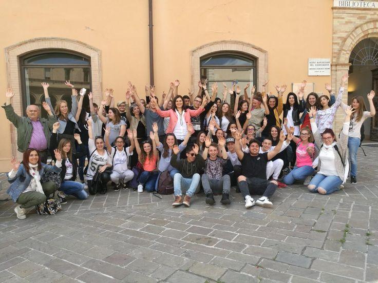 Macerata ricevuti dal vice sindaco gli studenti del Liceo Leopardi e i colleghi francesi di Barcellonette