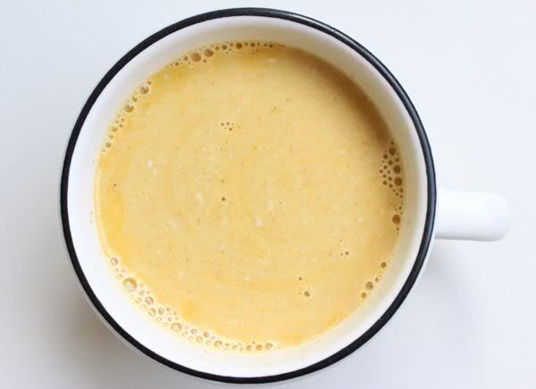 Creamy Tumeric Tea - This sounds so good!