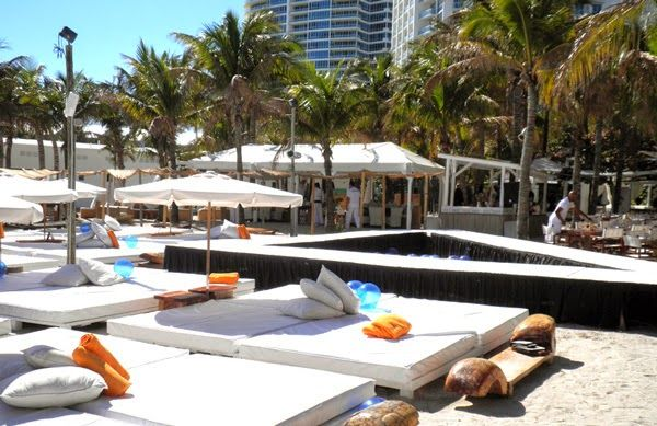 Nikki Beach in Miami Beach - Nikki Club South Beach ~ Miami Food Review
