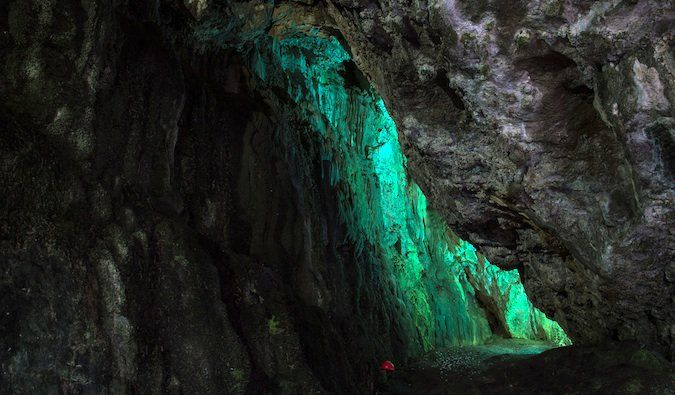 Smoo Cave entrance – Durness, Scotland